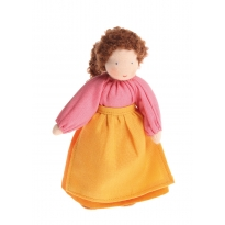 Grimm's Brown Haired Woman Doll