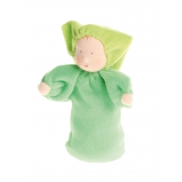 Grimm's Green Lavender Doll