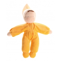 Grimm's Yellow Soft Waldorf Doll