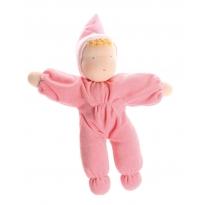 Grimm's Pink Soft Waldorf Doll