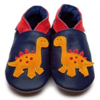 Inch Blue Orange Dino Navy Shoes
