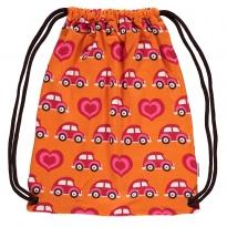 Maxomorra Orange Car Gym Bag