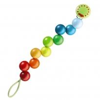 Haba Rainbow Pearl Pacifier Chain