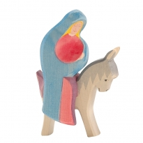 Ostheimer Mary On Donkey - 2 Pieces
