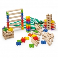 Erzi Building Log Toy