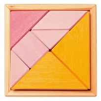 Grimm's Orange & Pink Tangram