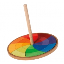 Grimm's Rainbow Hand Spinning Top