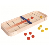Plan Toys 2-In-1 Shuffleboard Game