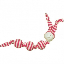 Keptin Jr Rattle Cuddle Sneeky - Fuchsia