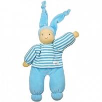 Keptin-Jr Blue Organic Rag Doll