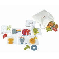 Plan Toys Alphabet A-Z & Cards