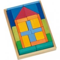 Glückskäfer 29-Piece House Blocks