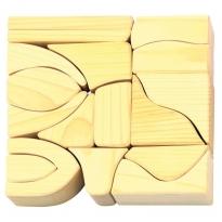 Glückskäfer 17 Large Natural Blocks