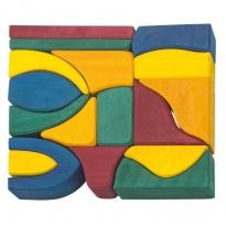 Glückskäfer 17 Large Coloured Blocks