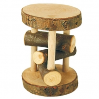 Glückskäfer Branch Wood Big Rattle Wheel