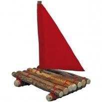 Glückskäfer Branch Wood Raft