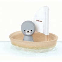 Plan Toys Seal Sailing Boat