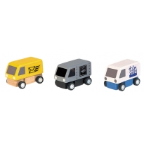 Plan Toys Delivery Vans PlanWorld