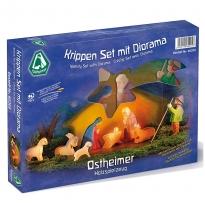 Ostheimer Nativity Set & Diorama