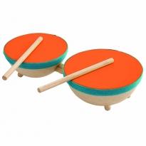 Plan Toys Double Drum