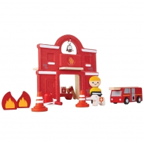 Plan Toys Fire Station PlanWorld