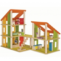 Plan Toys Chalet Dolls' House With Furniture