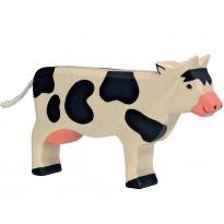 Holztiger Black Standing Cow