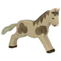 Holztiger Dappled Running Horse