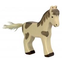 Holztiger Standing Dappled Foal
