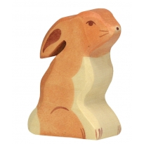 Holztiger Sitting Hare