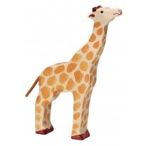 Holztiger Giraffe With Raised Head