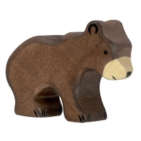 Holztiger Small Brown Bear