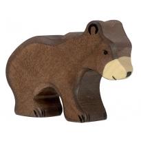 Holztiger Small Brown Bear