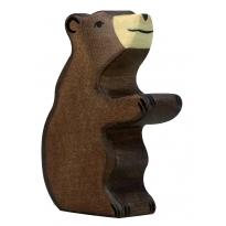 Holztiger Small Sitting Brown Bear