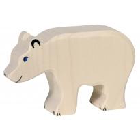 Holztiger Feeding Polar Bear