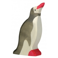Holztiger Penguin with Raised Head