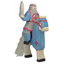 Holztiger Blue Knight Riding (Without Horse)