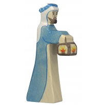 Holztiger Shepherd With Lamp 2