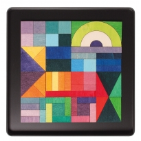 Grimm's Geo-Graphical Magnet Puzzle