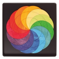 Grimm's Rainbow Wheel Magnet Puzzle