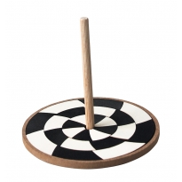 Grimm's Monochrome Hand Spinning Top
