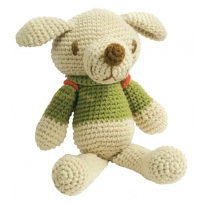 Crochet Backpack Dog 27cm