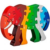 Lanka Kade Elephant 1-10 Jigsaw