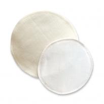 Silk & Wool Breast pads (14cm)