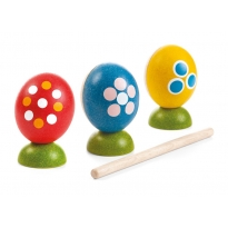 Plan Toys Egg Percussion Set