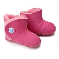 Cwtch Sheepskin Boots - Pink