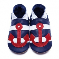 Inch Blue Sailor & Anchor Shoes