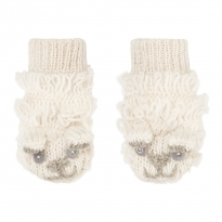 Piccalilly Knitted Mittens - Sheep