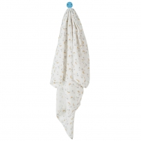 My First Frugi Little Lambs Muslin Swaddle