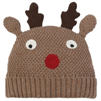 Frugi Reindeer Friendly Face Hat